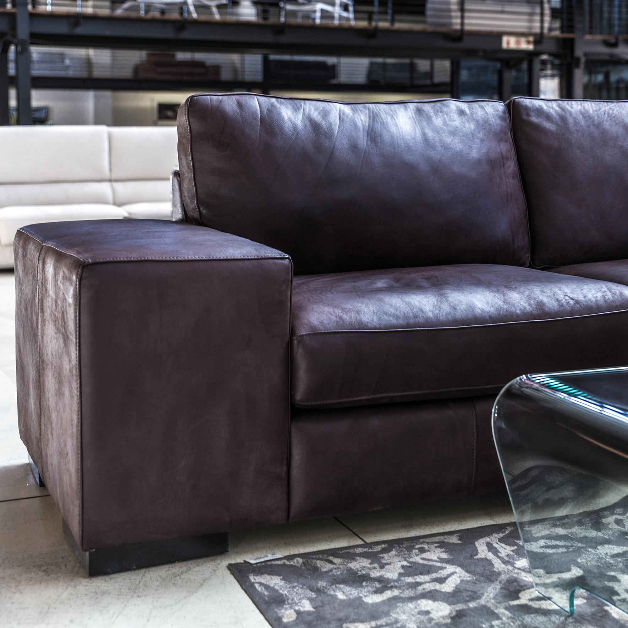 Leather Lounge Suites - Local
